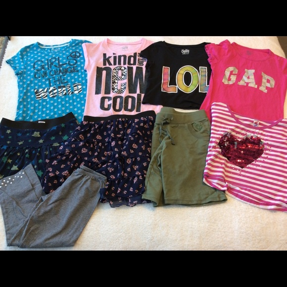 22bc8ca7de33 justice gap mossimo etc Other - Play flaws girls 14 summer lot skirt tops  justice